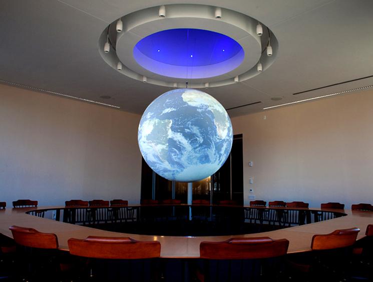 St. Paul School Lindsay Center Globe