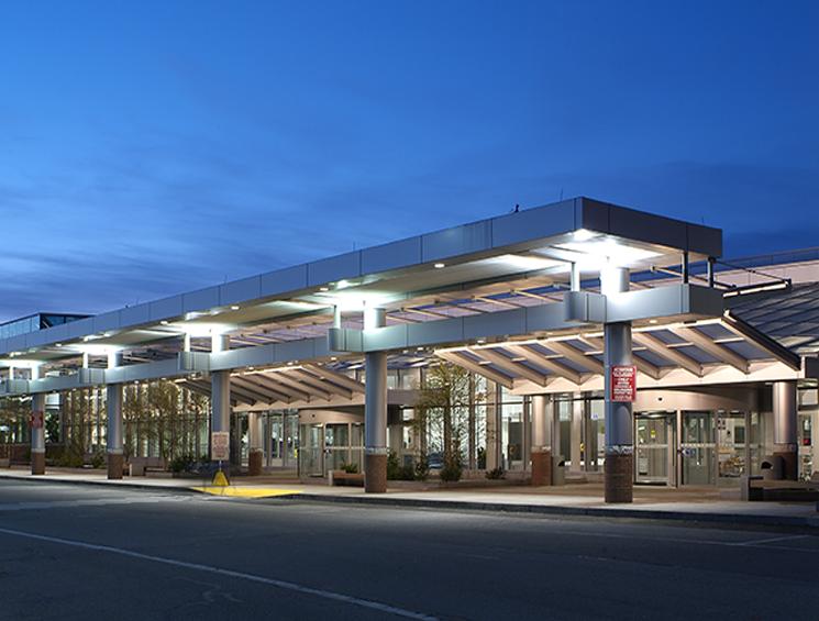 Manchester Airport Exterior