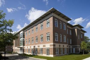 University of New Hampshire DeMerrit Hall Exterior