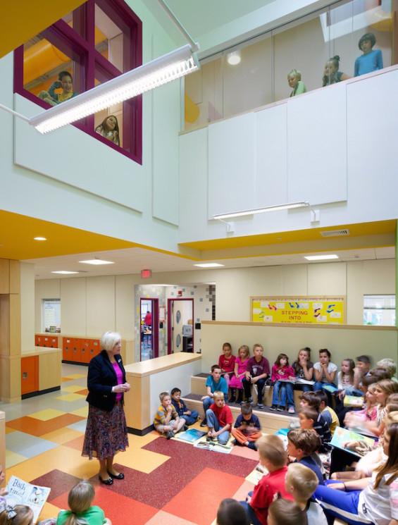 Concord Elementary School Consolidation Program Interior