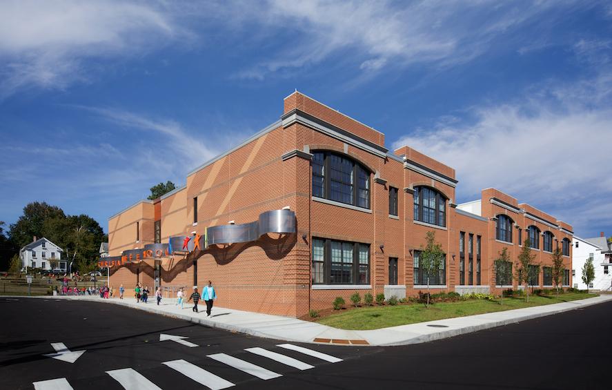Christa McAuliffe School Exterior Concord Elementary School Consolidation