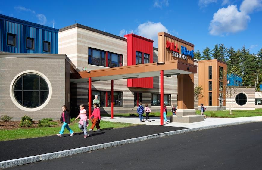 Mill Brook School Concord Elementary School Consolidation Program
