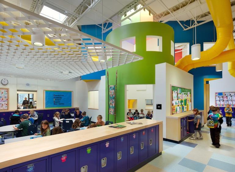 Mill Brook School Interior