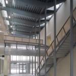 FAA TRACON Facility Hallway