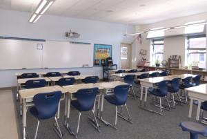Falmouth Elementary School Classroom