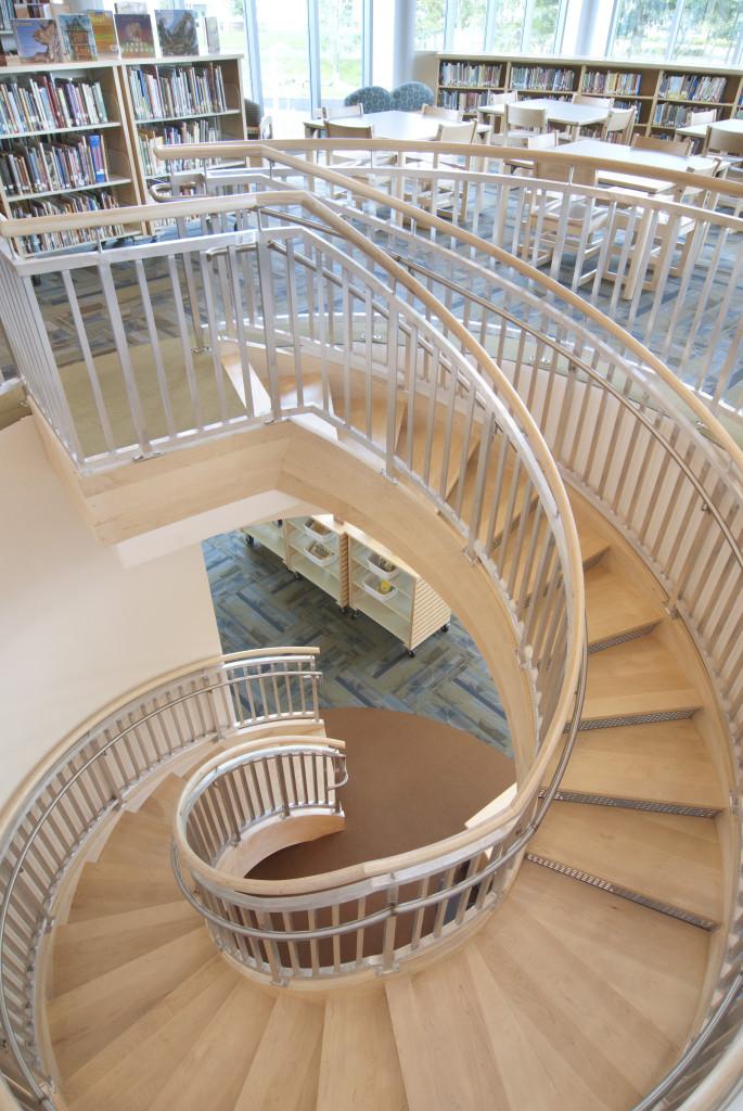 Falmouth Elementary School Circular Staircase
