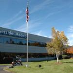 Riverside Medical Center Exterior Flagpole