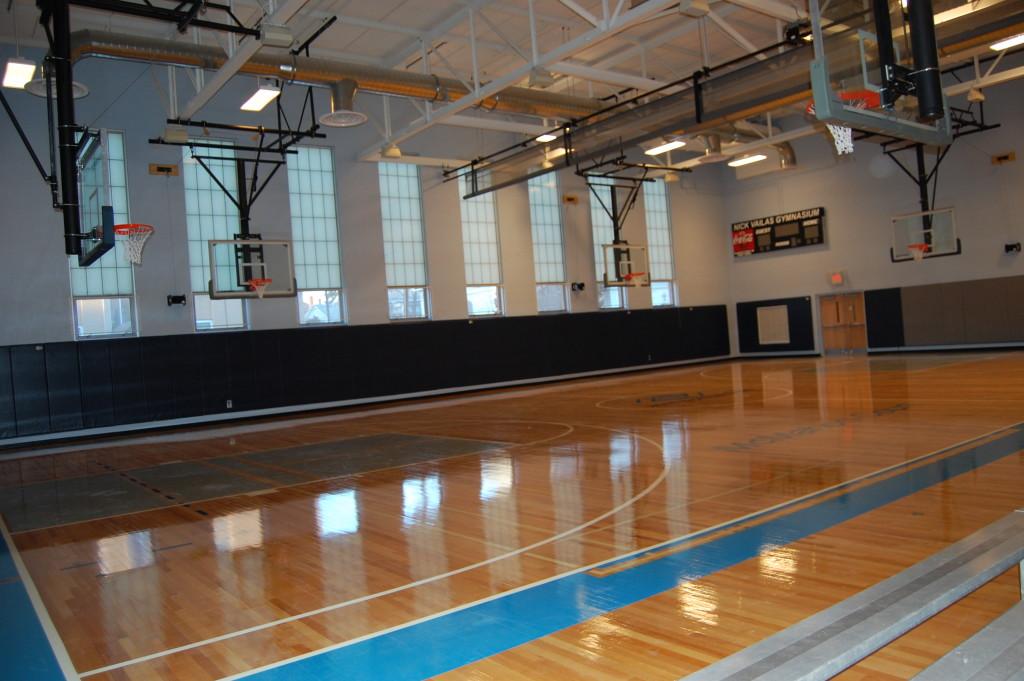 Manchester Boys and Girls Club Interior Gymnasium