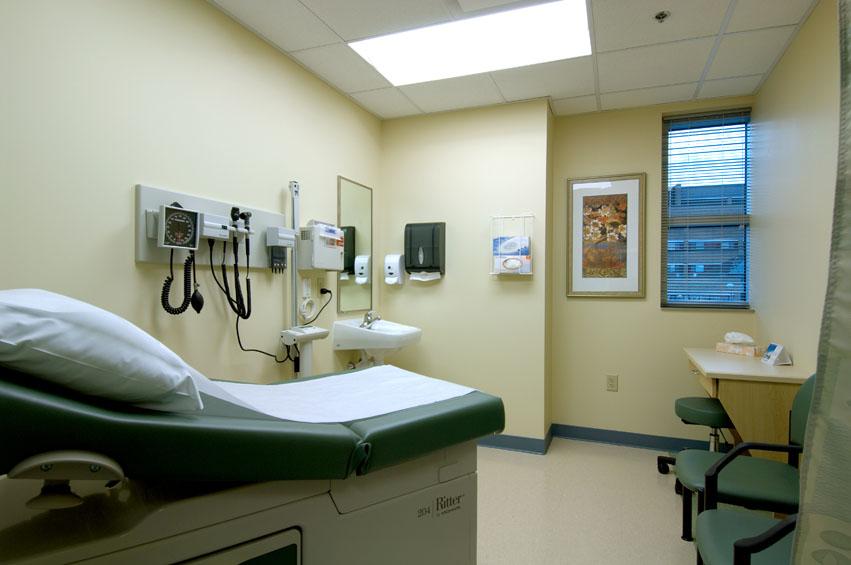 Notre Dame Pavilion Patient Room