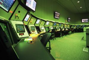 FAA TRACON Facility Interior