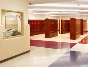 Exeter High School Hallway Lockers