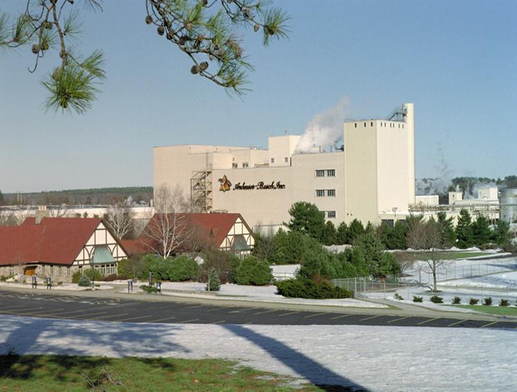 Anheuser Busch Exterior Wide View
